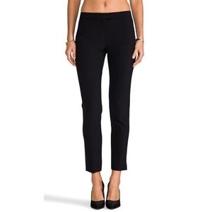 Theory Ibbey 2 Urban Cropped Skinny Trouser Pants